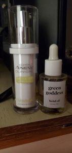 Avon Skin Peel and Green Goddess