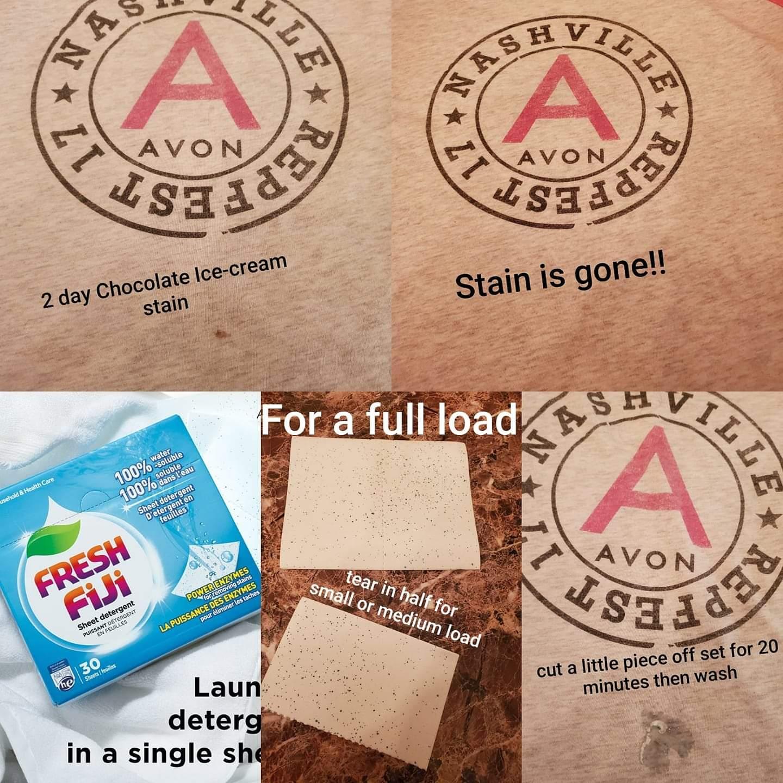 Fresh Fiji Sheet Detergent